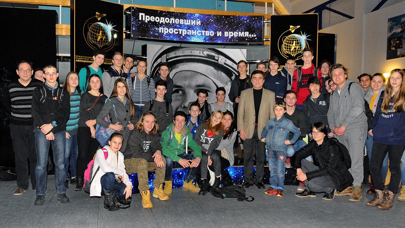 Ekskurzija v ruski center kozmonavtike Zvezdno mesto. Vir: Sklad Toneta Pavčka