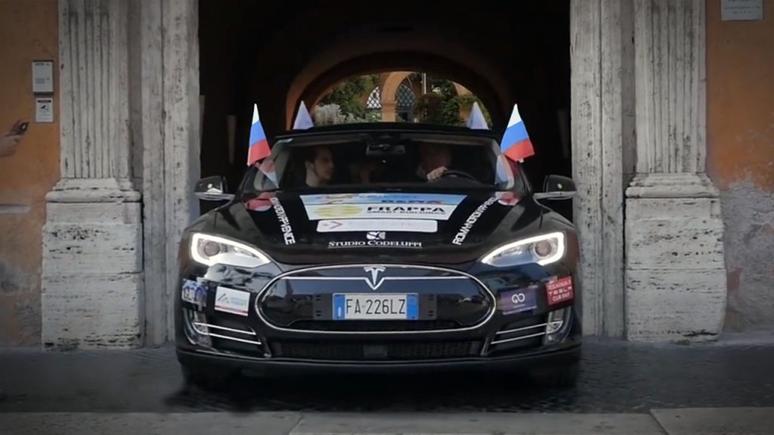 Iz Nove Gorice (Slovenija) do Stavropola (Rusija), 9.400 km z električnim avtomobilom.