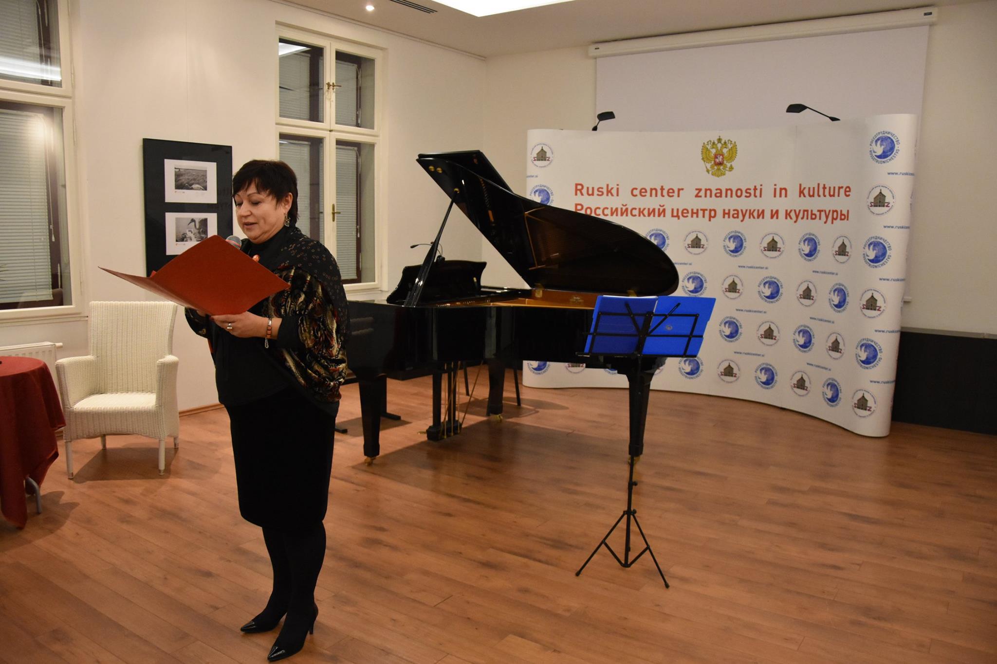Valerija Kilpjakova je vodja projektov in tečajev v Ruskem centru znanosti in kulture, ki ga najdete nasproti ljubljanske Mestne hiše.