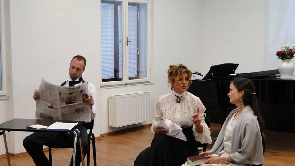 Puškinov večer v okviru tečajev ruskega jezika, junij 2015. / Vir: Ruski center znanosti in kulture
