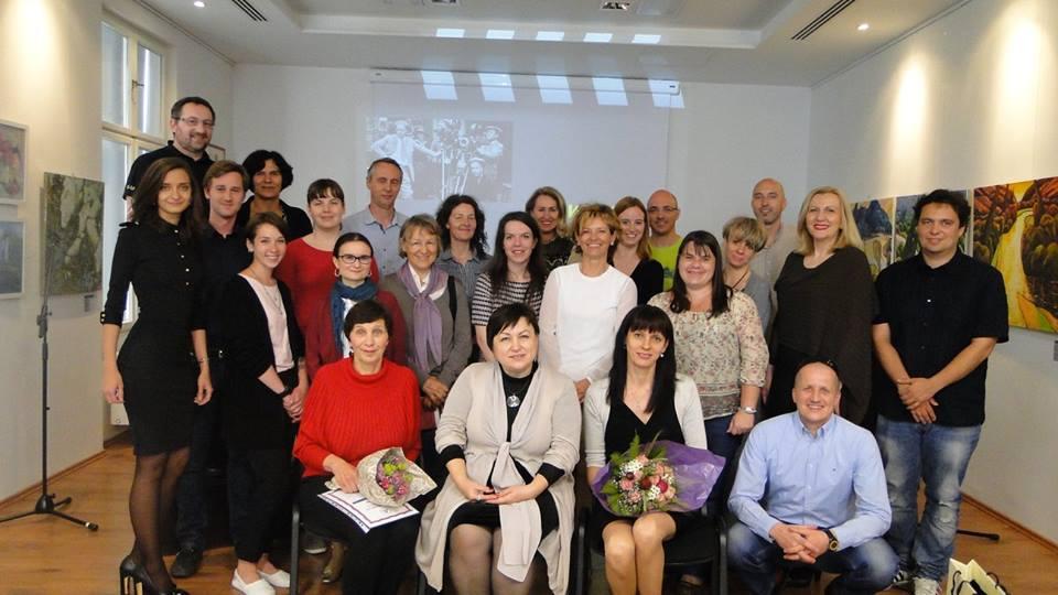 Filmski večer v okviru tečajev ruskega jezika, ki so ga posvetili letu ruskega filma (2016). / Vir: Ruski center znanosti in kulture