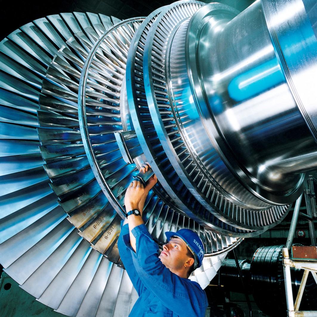 Rotor turbine nemškega koncerna Siemens.