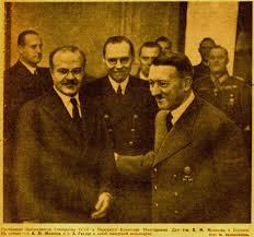 Molotov in Hitler. Vir: Wikipedia