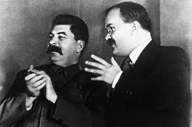Stalin in Molotov. Vir: Ilco Org