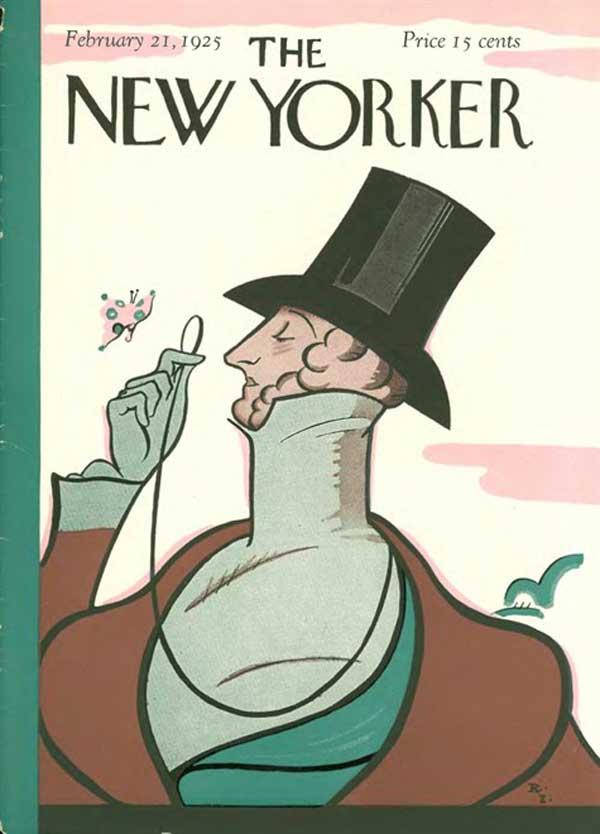 Naslovnica The New Yorkerja iz leta 1925.