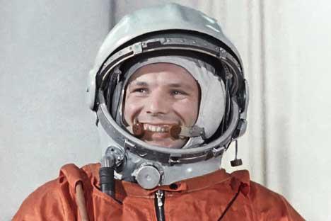 Fama de Gagárin fez com que cratera na Lua e rocha em Marte, entre outras coisas, recebessem o nome do cosmonauta
