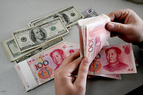 The Yuan is now the third most popular foreign currency for VTB clients.