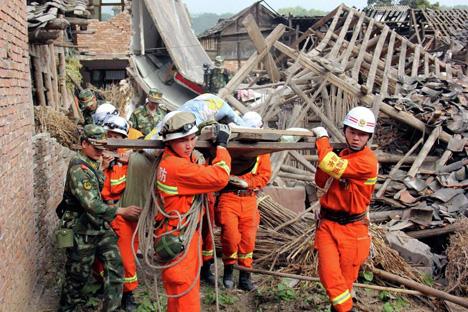 Terremoto de magnitude 6,6 deixou cerca de 200 mortos na China Foto: Reuters