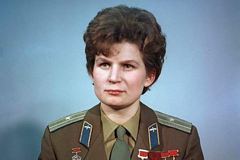 Valentina Tereškova.