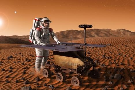 Dengan mengisi atmosfer Mars dengan karbon dioksida, temperatur akan meningkat dan lingkungan lebih cocok untuk ditinggali.