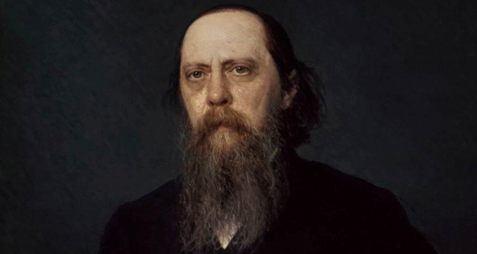Ivan Nikolaevich Kramskoi - Portrait of the writer Mikhail Saltykov-Schedrin